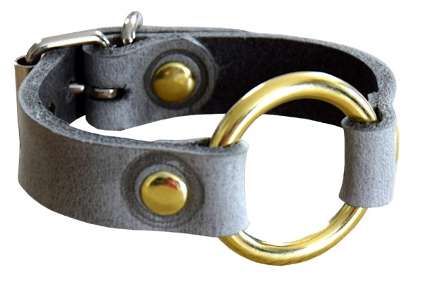 """""""Terginum Grey Collection"""" Armband mit Rundring"""