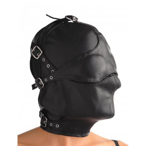 Bondage Maske mit Ballknebel