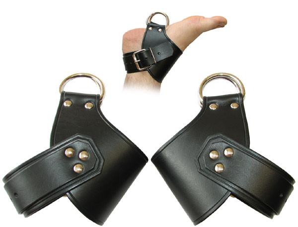 Leder-Hängefesseln Fußhängefesseln