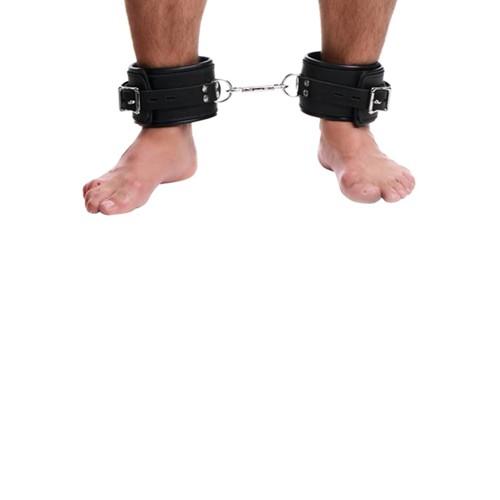 Strict Leather Premium gefütterte Fußfesseln aus Leder