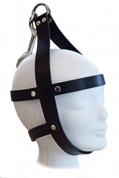 TERGINUM Kopfgeschirr Kopffixierung Kopffessel inkl. Karabiner