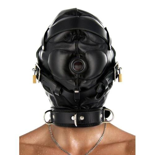 Strict Leather Premium Lederhaube für Sinnesentzug
