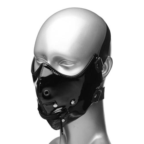 Maske Hannibal Lecter - mit Reißverschluss