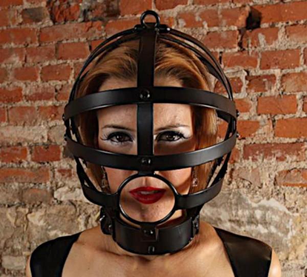 Kopfkäfig Stahlkäfig Stahlmaske Kopfmaske Schandmaske Maßanfertigung