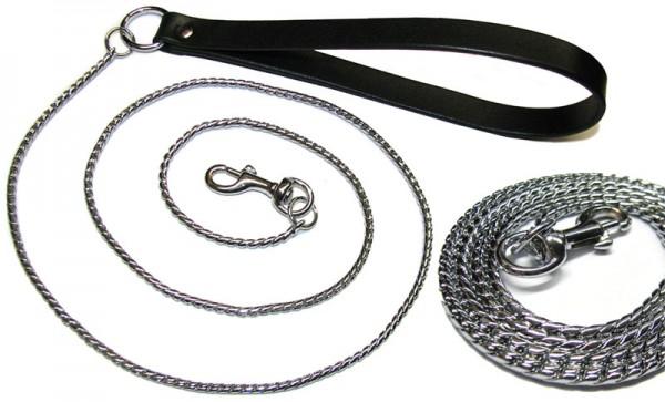 Exklusive Führleine Schlangenkette