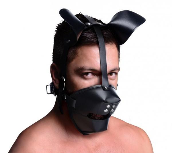 Puppy Play Maske Mit Ballknebel