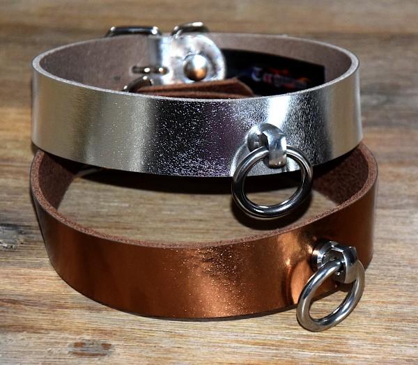 PREMIUM Metallic Effect Halsband der O