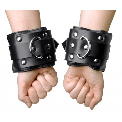 Strict Leather gefütterte Premium Handfesseln