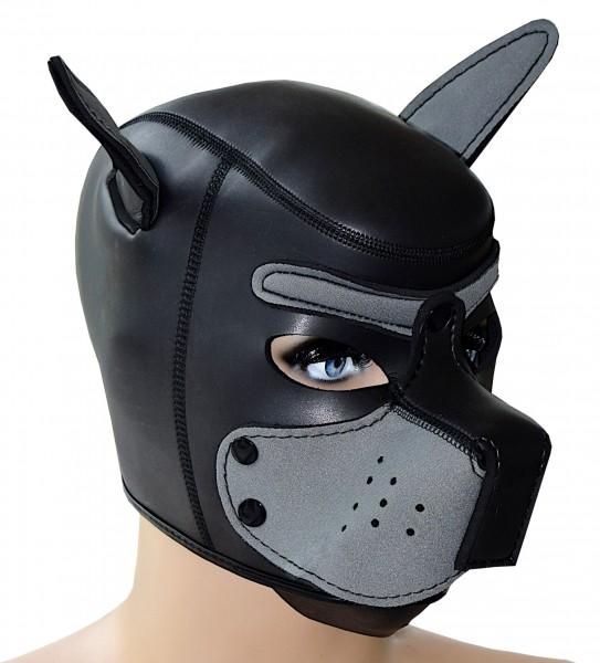 Hundemaske Puppy aus Neopren - Pet Play