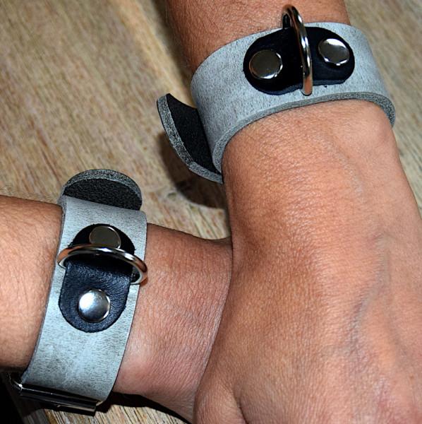 Terginum grey collection Handfesseln