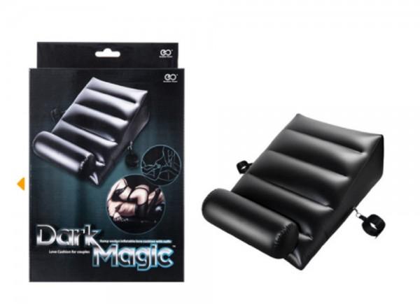 Aufblasbarer Bondage Sessel / Lounger PVC - mit Handfesseln