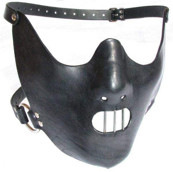Leder-Maske Hannibal Lecter