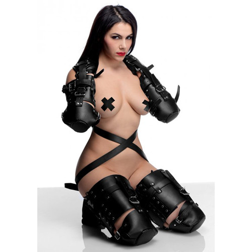 STRICT Leather Pet Crawler Bondage Set